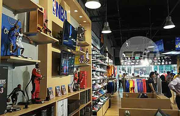 241bd744a6ae Third NBA Store opens in Trinoma as league expands presence in hoops ...
