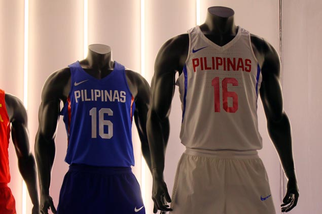 1d1a04bd3fbb Nike unveiled the 2016 Gilas Pilipinas kits as well as the jerseys of Team  USA