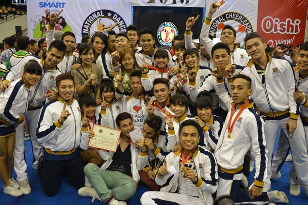 NU pep squad aims high after win at nationals