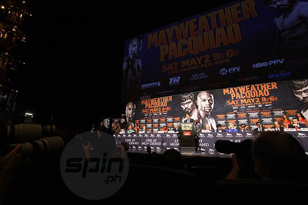 Pacquiao vs Mayweather the main dish in a 'Super Saturday' for American sports fans