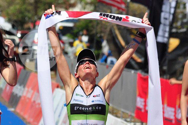 Briton Parys Edwards rules the women's elite race. Dante Peralta