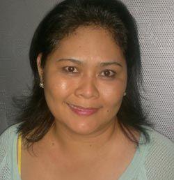 Here's Paul Lee's mom Helen. Snow Badua