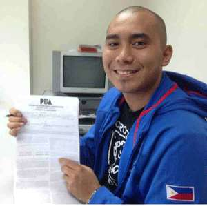 Paul Lee posted this photo on his Instagram account, shortly after the contract signing.