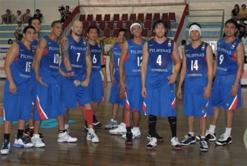 The 2009 Philippine team was led by league MVPs James Yap, Asi Taulava, Willie Miller, and Jayjay Helterbrand. Snow Badua