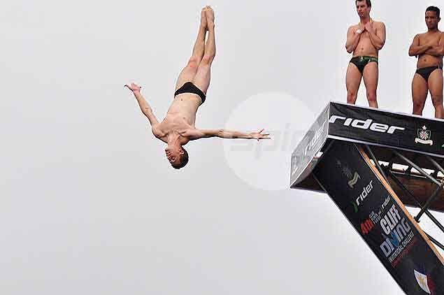 Australian Liam Atkins doing his routine.Dante Peralta