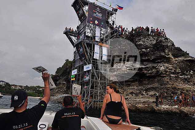 For this year, a 20-meter platform, the highest so far in the tournament,was added to complement the 15m and standard 10m.Dante Peralta