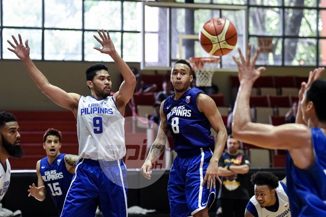 """""""I just feel internationally, you can't have success without your best players. Your cadets will never be your best players, best players will be your PBA players,"""" says Tim Cone. Jaime Campos"""