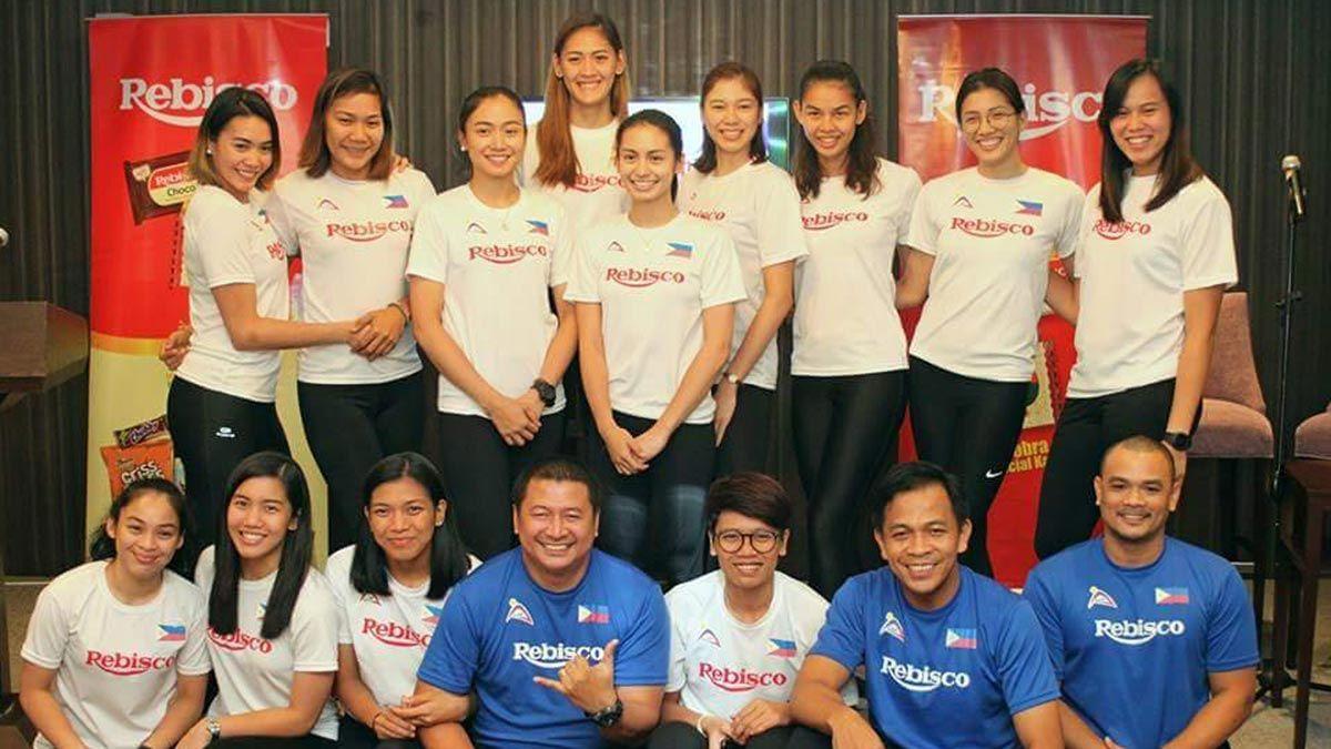 Rebisco Supports Philippine National Volleyball Team