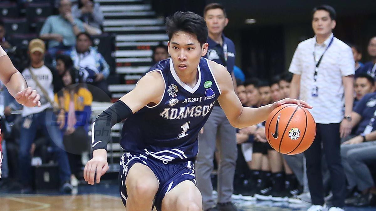 Adamson S Sean Manganti Voted Uaap Press Corps Player Of The Week