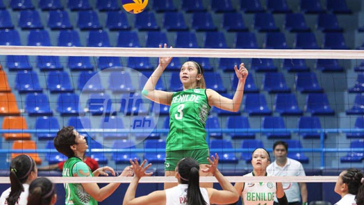 Benilde Holds Off Perpetual For Back To Back Wins In Ncaa Women S Volley