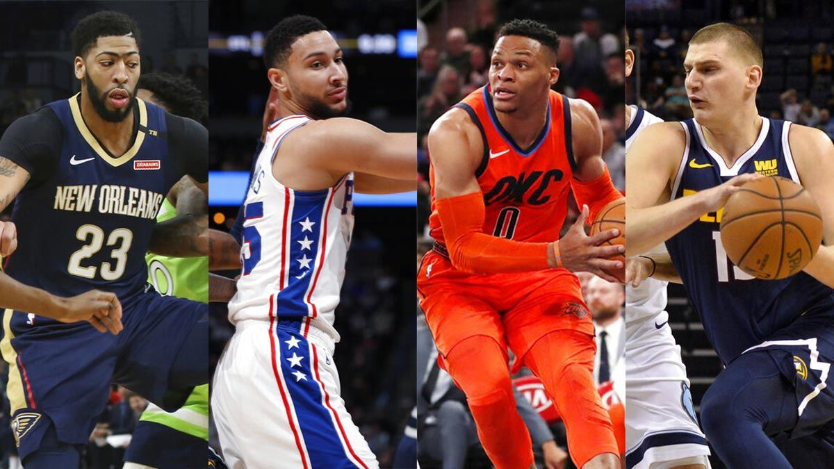 Davis Westbrook Lead Nba All Star Game Reserves As Rookie