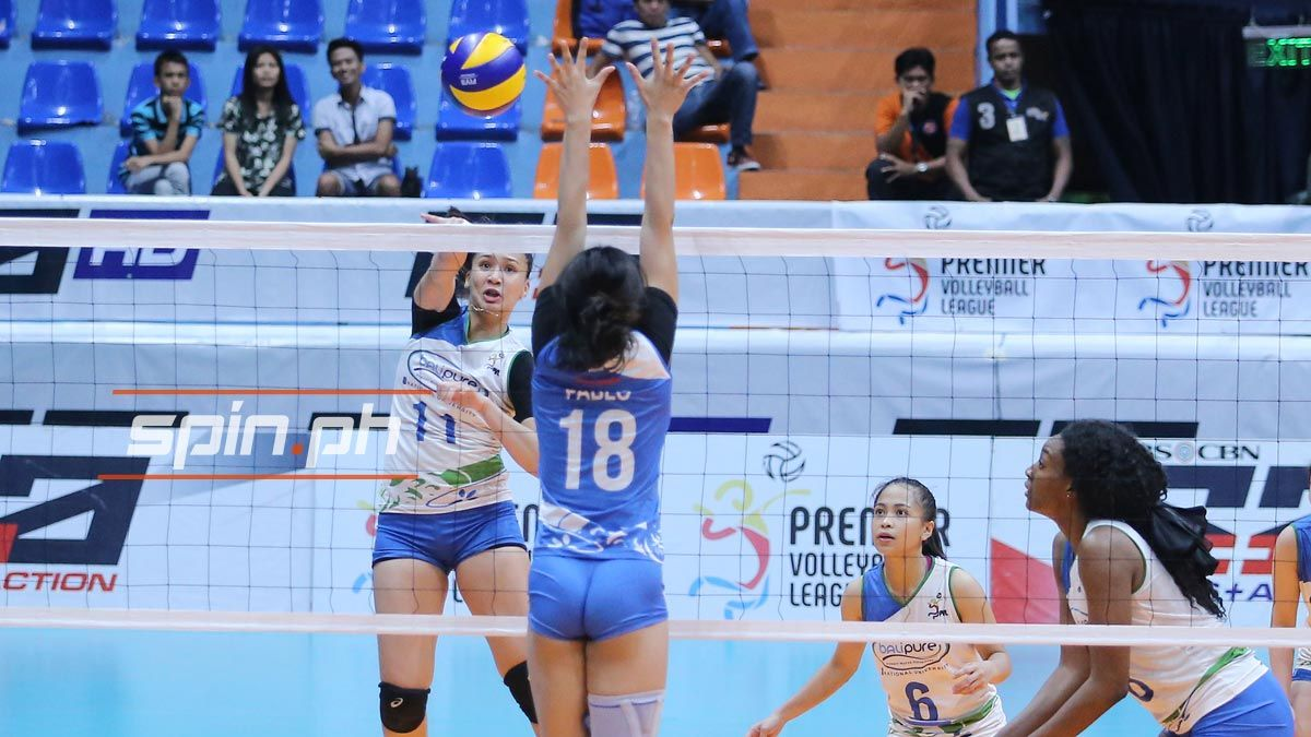Nu Girls Volleyball Star Faith Nisperos Gets Warm Welcome After Move To Ateneo