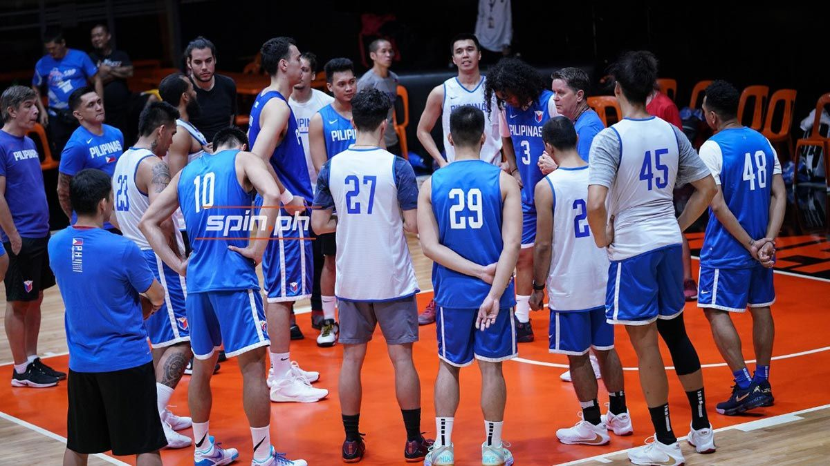 Gilas Pilipinas cancels weekly practice - Sports Interactive Network Philippines
