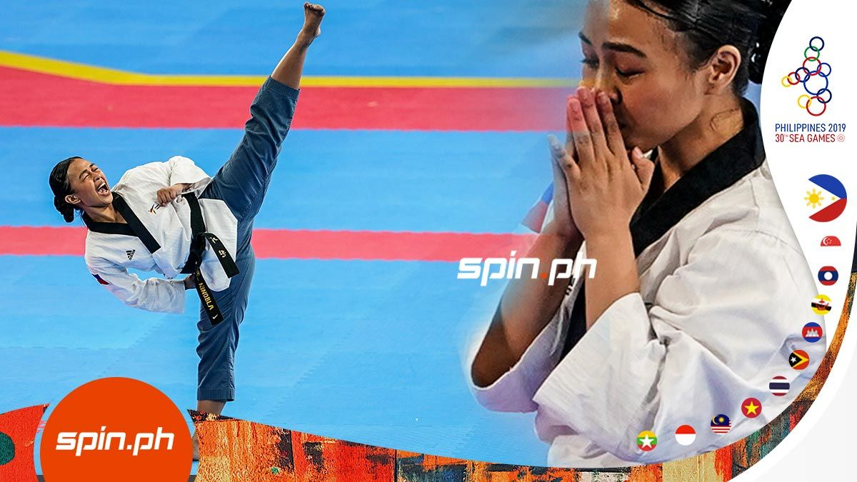Jocel Lyn Ninobla Wins Womens Poomsae Gold In Sea Games