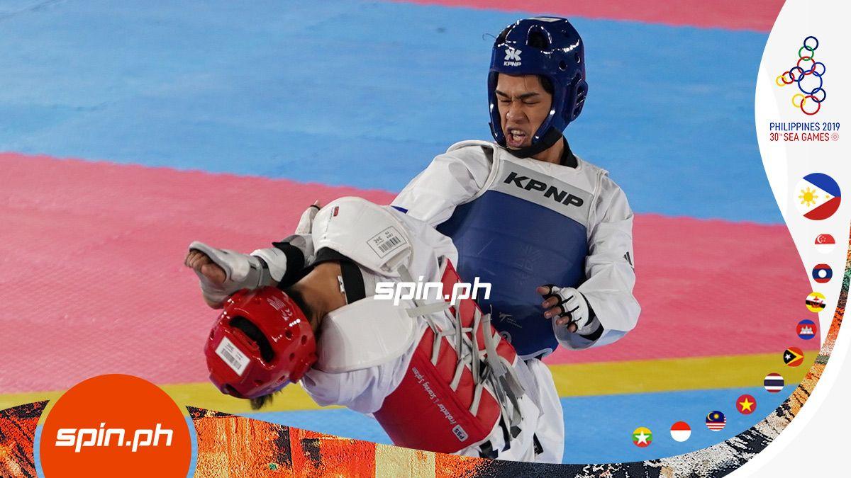 Kurt Bryan Barbosa Wins Finweight Gold In Seag Taekwondo