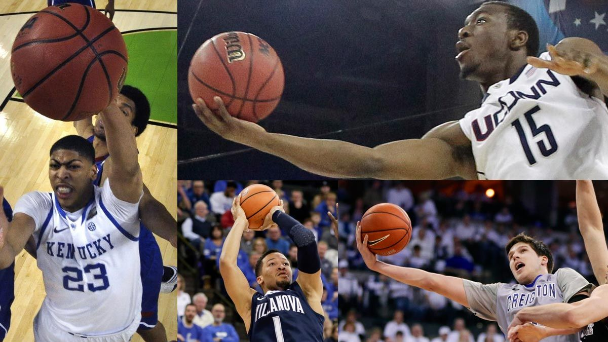 Kemba Walker Anthony Davis Headline Ap All Decade College