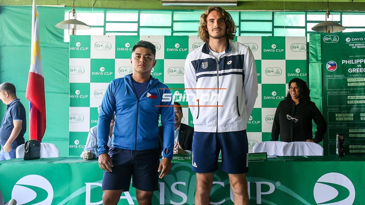 Aj Lim Draws Task Of Facing Stepanos Tsitsipas In Davis Cup Tie