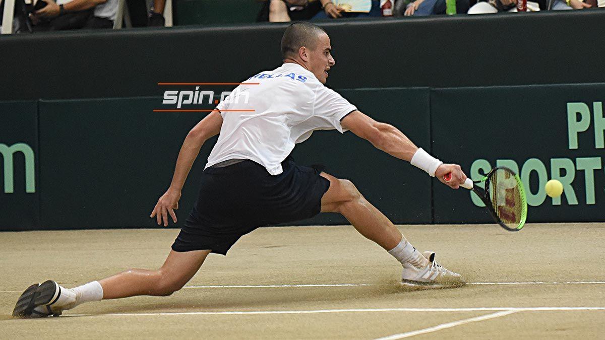 Petros Tsitsipas Rips Patrombon For 2 0 Greece Lead In Davis Cup