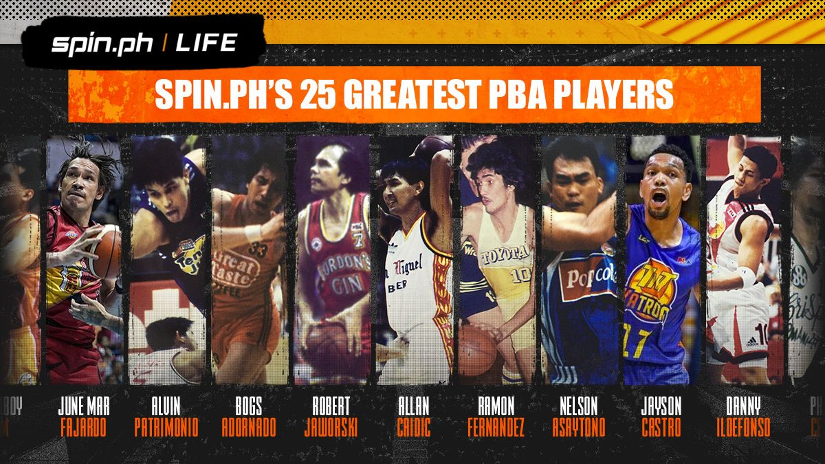 SPIN.ph selects its 25 Greatest PBA Players
