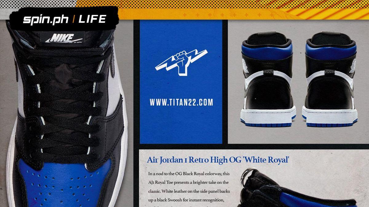 Nike Announced Air Jordan 1 White Royal