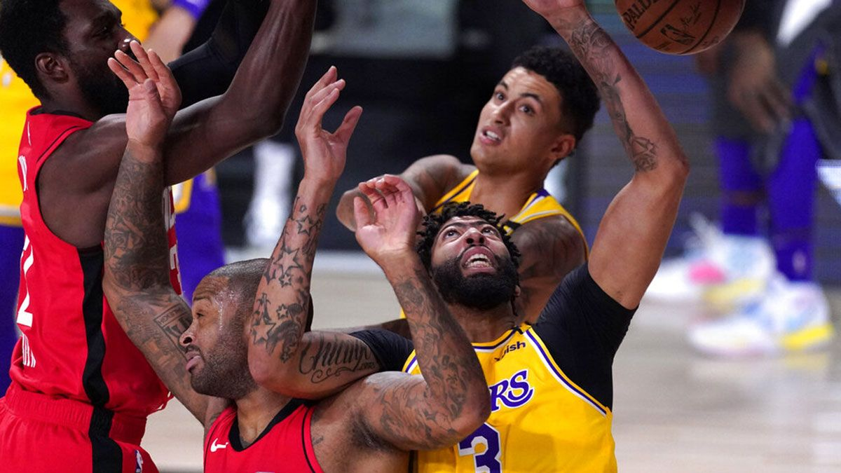 Lakers vs Rockets Game 4 score, recap, stats leaders