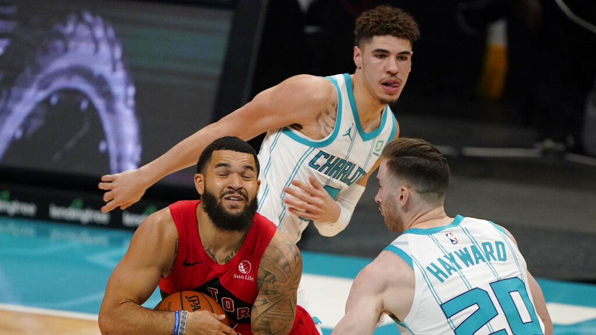 Lamelo Ball Recovers From Scoreless Debut As Raptors Still Trip Hornets