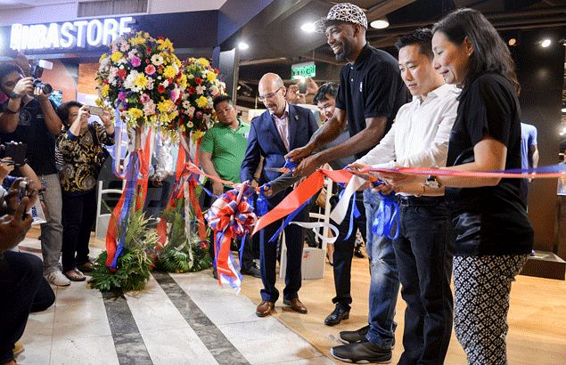 0a8a08bdd6fb Looking for prized NBA merchandise  Then NBA Store at Glorietta is the  place to go