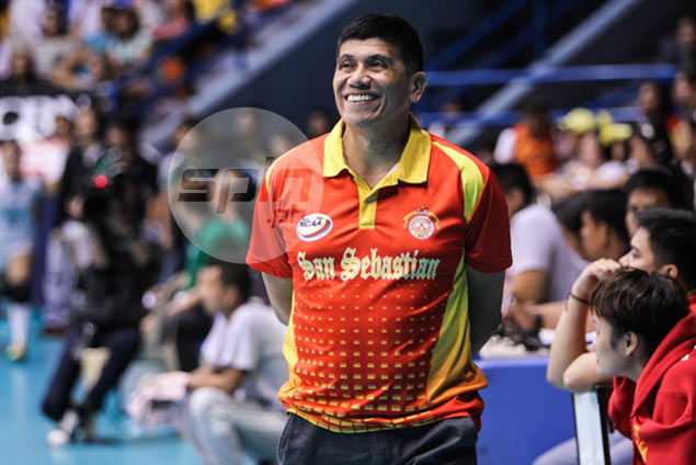 Gorayeb looks to improve defense, teamwork as San Sebastian faces tough stretch in sweep bid
