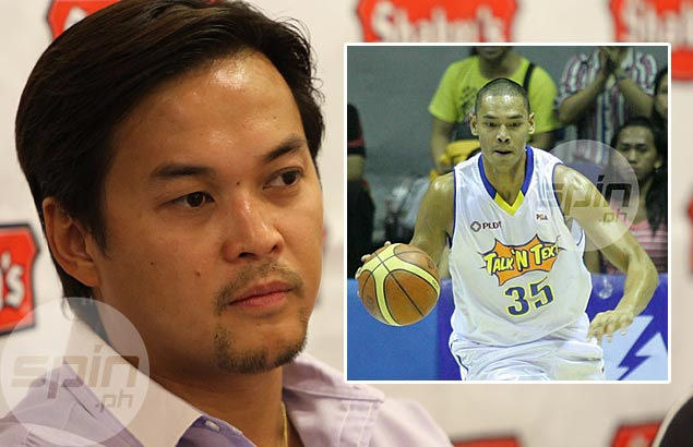 Globalport owner Mikee Romero says Japeth Aguilar will now be part of