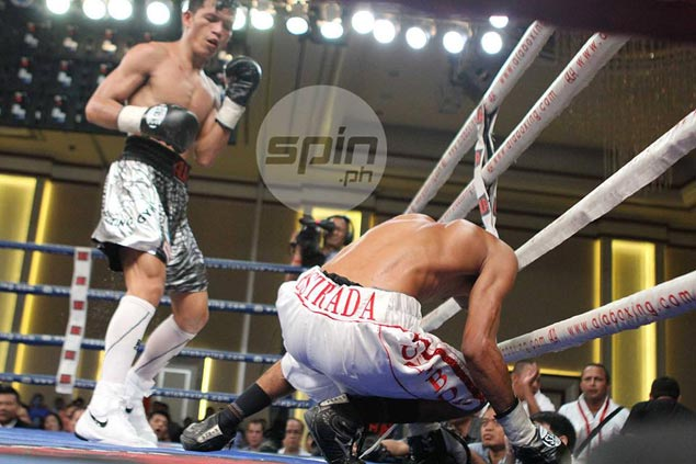 Merlito Sabillo successfully retains his WBO minimumweight title with the victory over Jorle Estrada of Colombia. Photo by Jerome Ascano