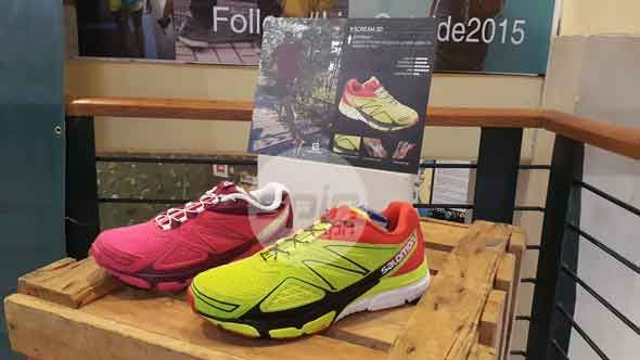 Recommended for trail running: the Salomon X Scream 3D