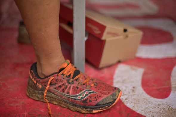 The Saucony Nomad TR after being put through the paces of an 11k trail  run.