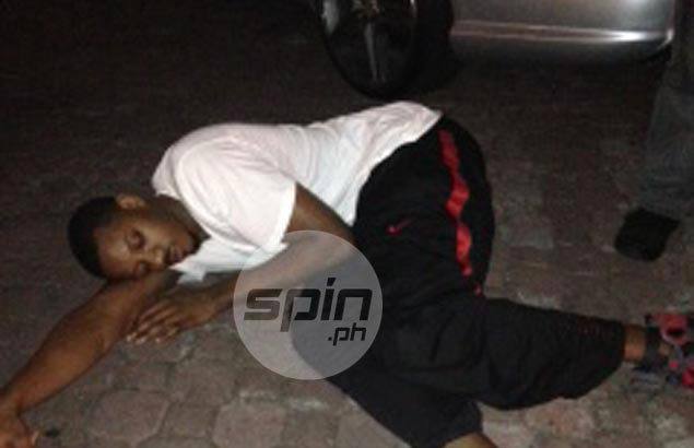 Globalport officials left fuming by photo of import Sharpe asleep in parking lot