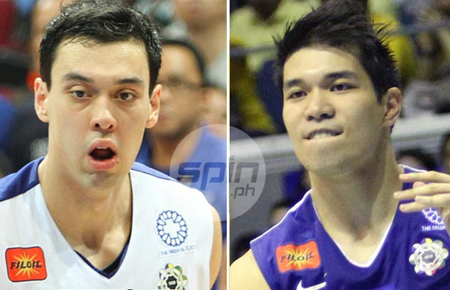 FEU's RR Garcia and Terrence Romeo, have gone their separate ways