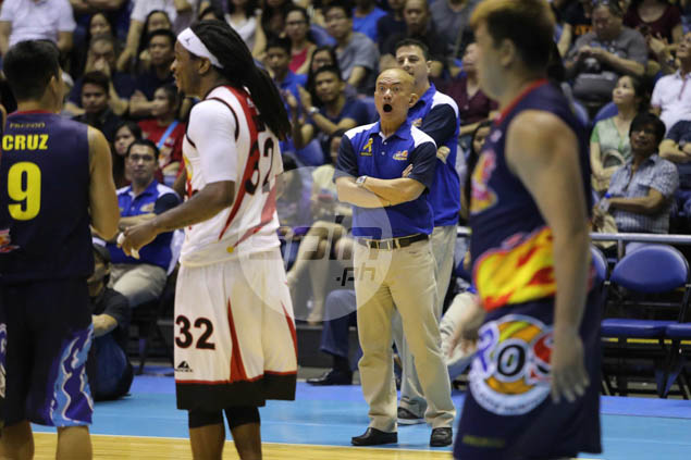 Guiao fights major battles on two fronts as PBA coach, reelectionist congressman
