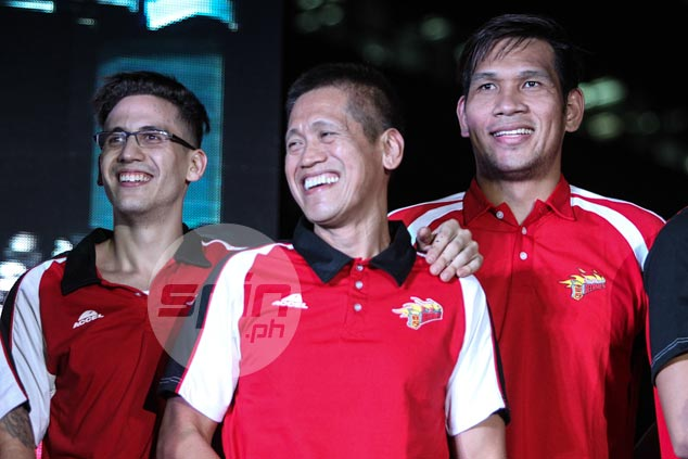 Biboy Ravanes, June Mar Fajardo, and Anthony Semerad.