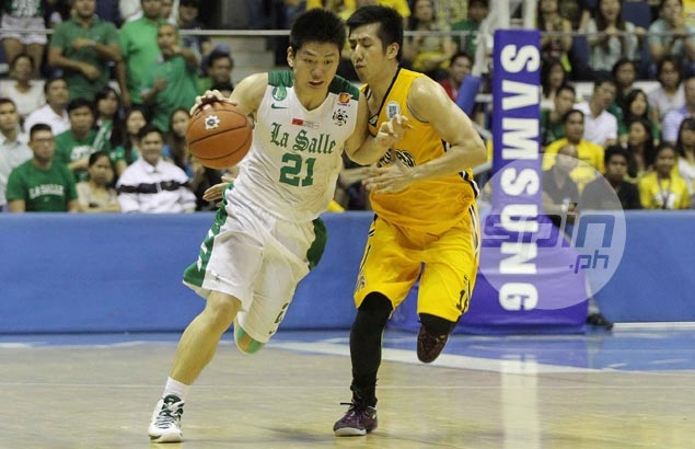 archers in game one of the uaap men s basketball finals jerome ascano