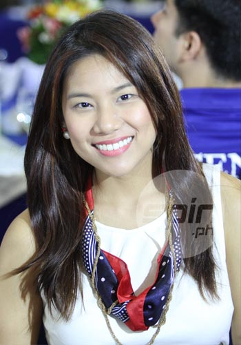 Katz Salao calls herself a Red Maroon. Photo by Jerome Ascano