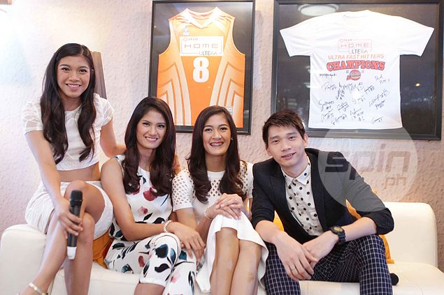 Dindin, Jaja willing to follow Daquis lead and pose for FHM. How about Alyssa Valdez?