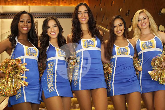 lowest price 0059f 1fdda Meet the two Pinay members of the Golden State Warriors  Dance Team