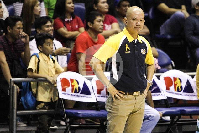 Painters coach Yeng Guiao banned one game, fined P40,000 for actions in game against Enforcers