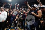Letran Knights savor the moment as Season 91 champions