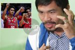 Letran gets full pledge of 'support' from new team manager Manny Pacquiao