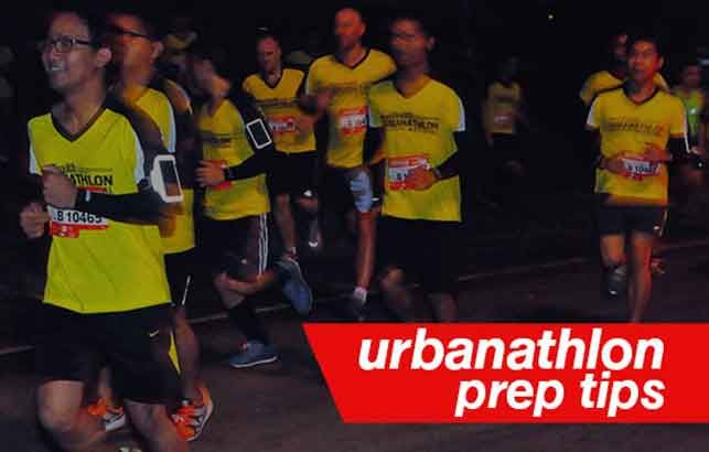 Five days before Men's Health Urbanathlon. Here's what you should do to get ready