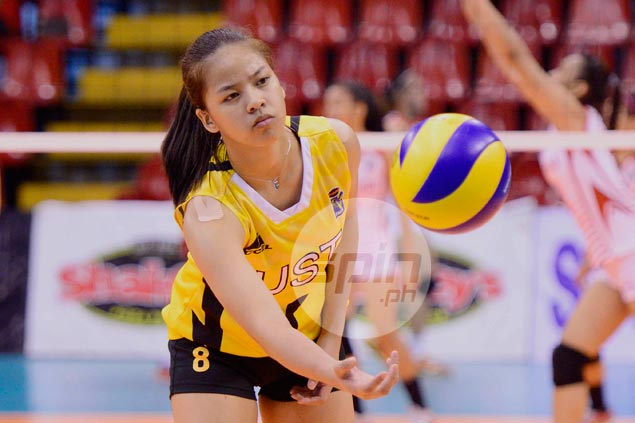 Eya Laure stands out as UST stays on track for double kill in UAAP juniors volleyball