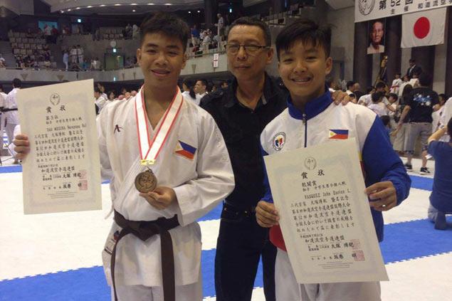 Narayana Rsi Das Mesina bags bronze in World Wado Karate Championship
