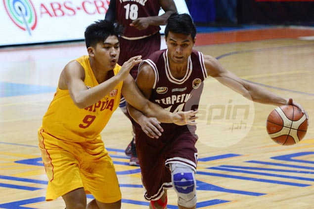 Perpetual Altas stretch win run to five with rout of Mapua Cardinals behind Gab Dagangon double-double