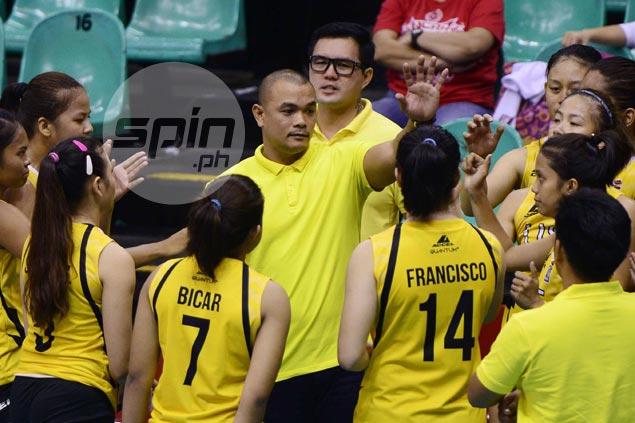 Reyes not surprised to see teens Eya Laure, Maji Mangulabnan hold own with UST seniors team