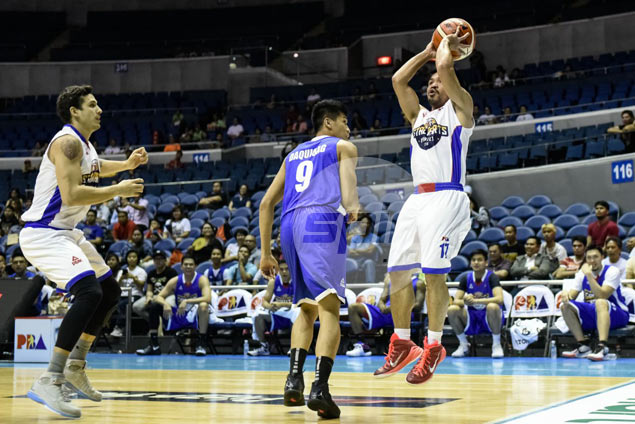 High-scoring Pacquiao an unlikely saving grace in poorly attended PBA All-Star sidelight