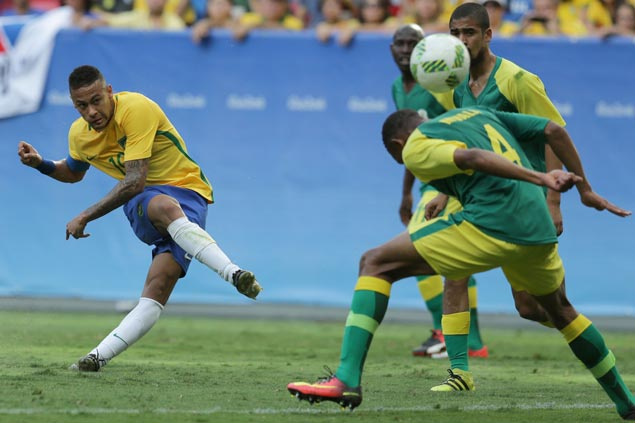 Brazil disappoints in Olympic opener as home crowd jeers scoreless draw vs South Africa